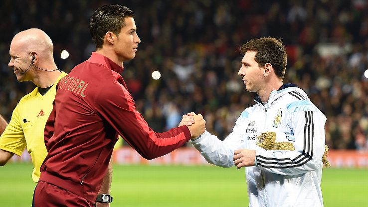 Lionel Messi and cr7