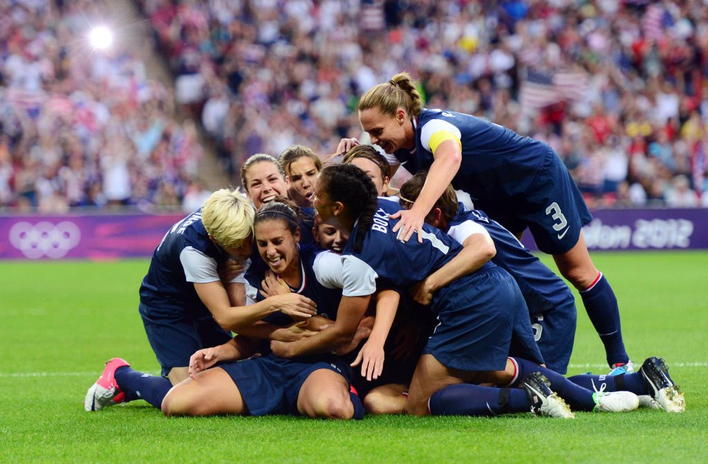 Olympics: Soccer-Women's Gold Medal Match-JPN vs USA